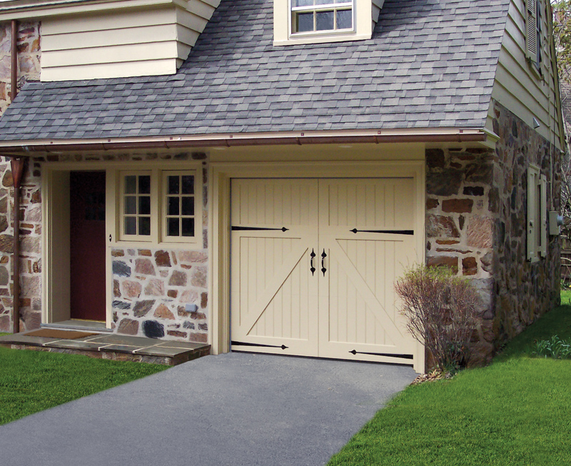 Artisan Custom Doorworks Medallion 100 Series Carriage House & Doormaster of Cleveland