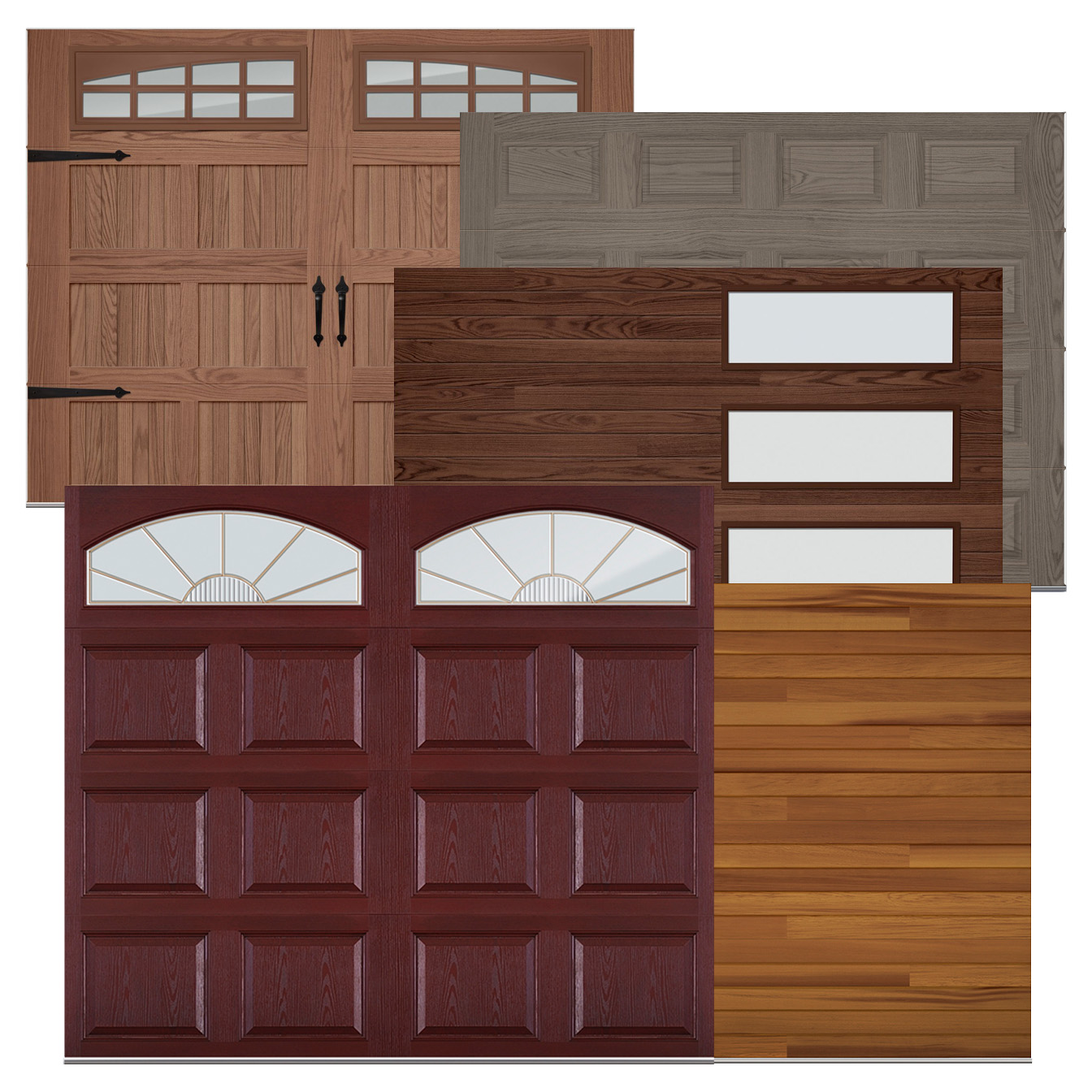 Now Is The Perfect Time To Makeover Your Garage Door. Ask Us About Painted  Woodtones, Accents Woodtones, Wood Overlays, And Accents Images U0026 Logos.
